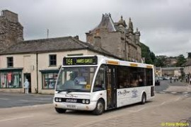 Photo of Dales and District bus in Leyburn