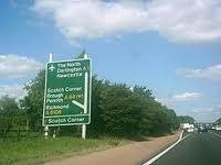 Photo of the A1 at Scotch Corner