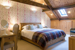 Bedroom at The Old Town Hall, Redmire